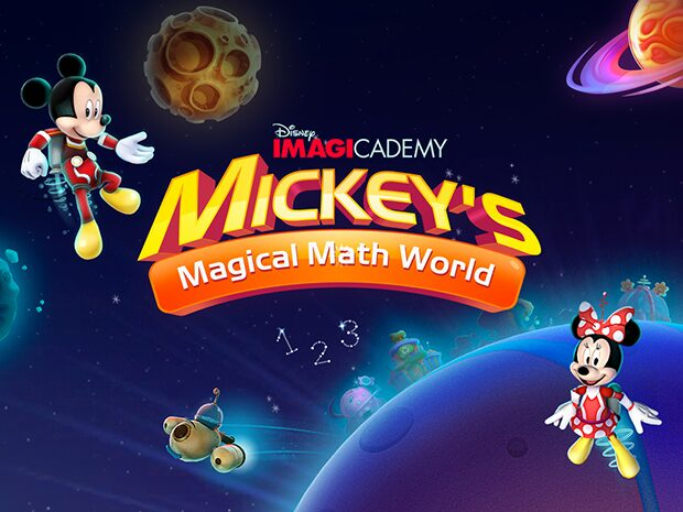 Disney Imagicademy Mickey's Magical Math World