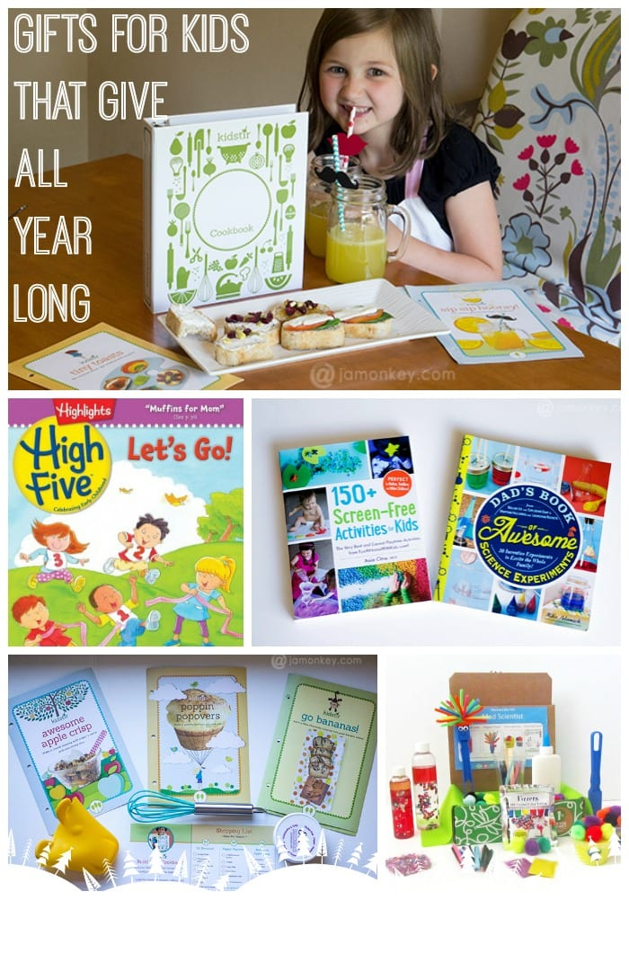 Gifts for Kids that Give All Year Long