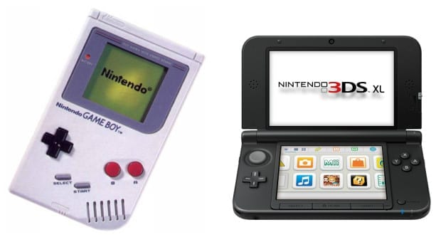 nintendo old and new