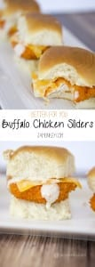 Better for you Buffalo Chicken Sliders