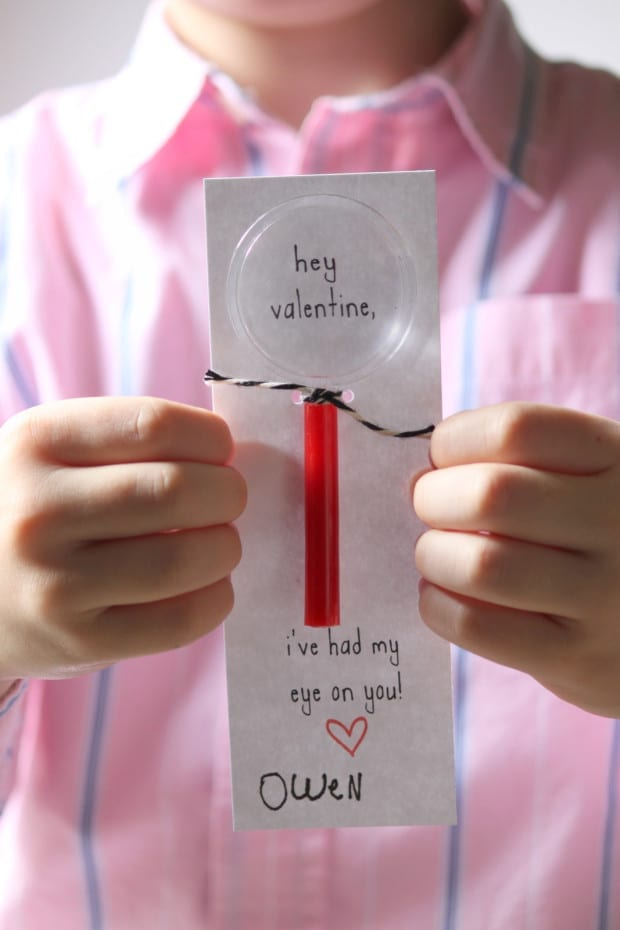 Magnifying Glass Valentines