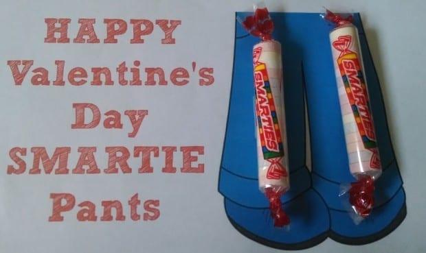 Smartie Pants Valentines