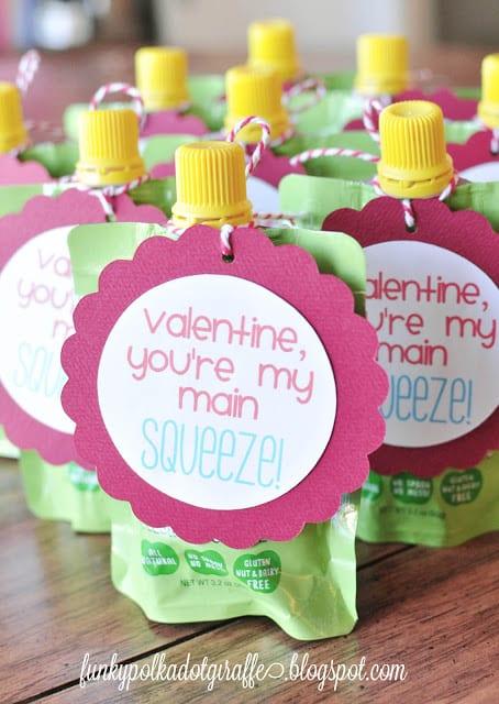 Applesauce Squeeze Valentines