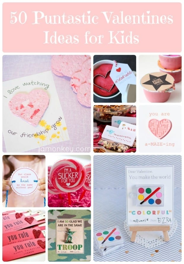 50 Puntastic Valentines Ideas for Kids