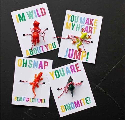 Tiny Animals Valentines