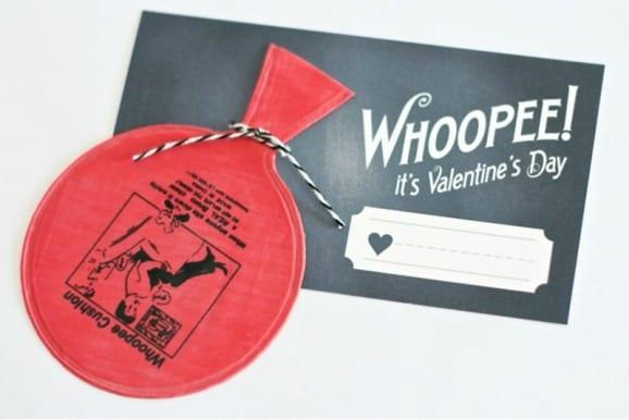 Whoopie cushion valentines