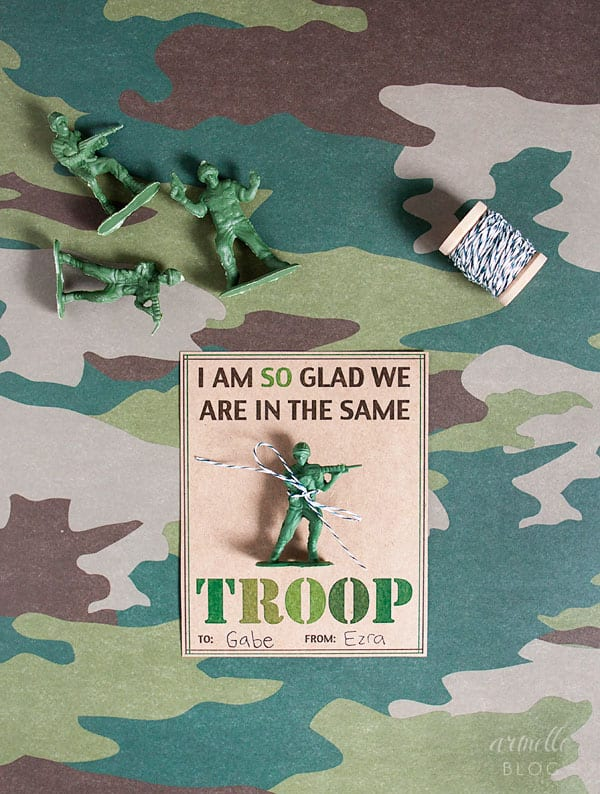 Army Men Valentines