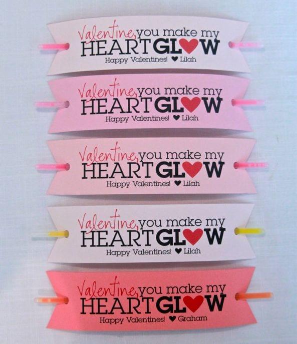Glow Stick Valentine
