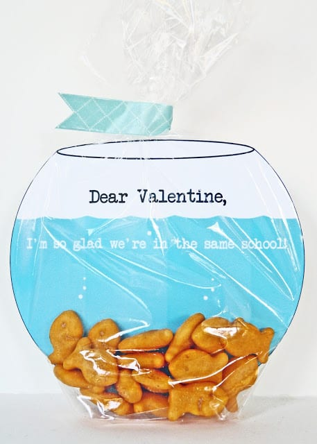 goldfish bowl valentine