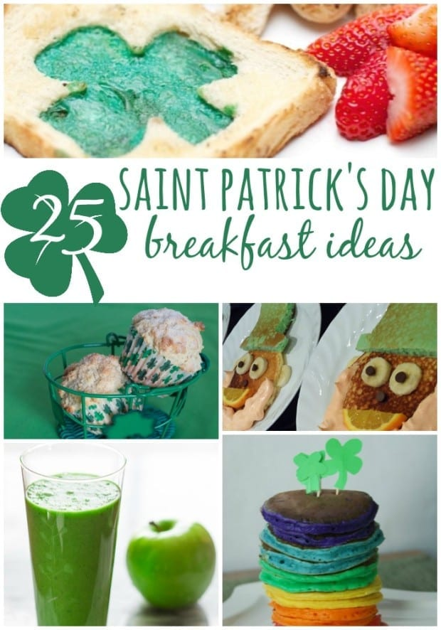 St. Patrick's Day Breakfast Ideas