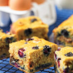 Blueberry Hazelnut Coffee Cake – Gluten Free Recipe