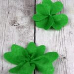 DIY Felt Four Leaf Clover