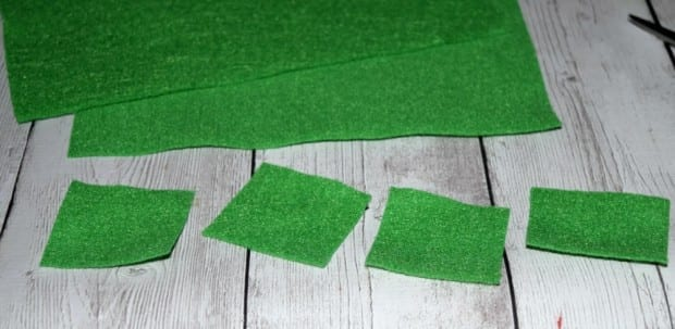 DIY Felt Four Leaf Clover2
