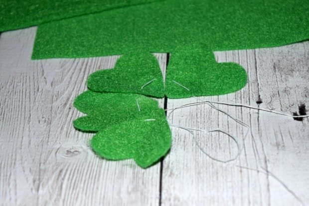 DIY Felt Four Leaf Clover5