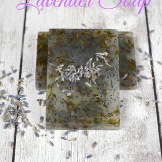 Homemade Lavender Soap