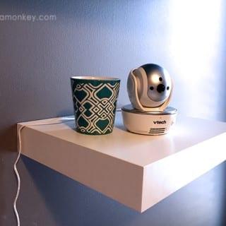 VTech Safe & Sound Pan & Tilt Full Color Video Monitor