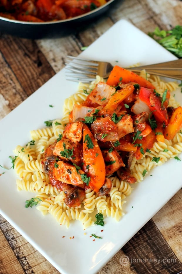 Spicy Italian Chicken Pasta