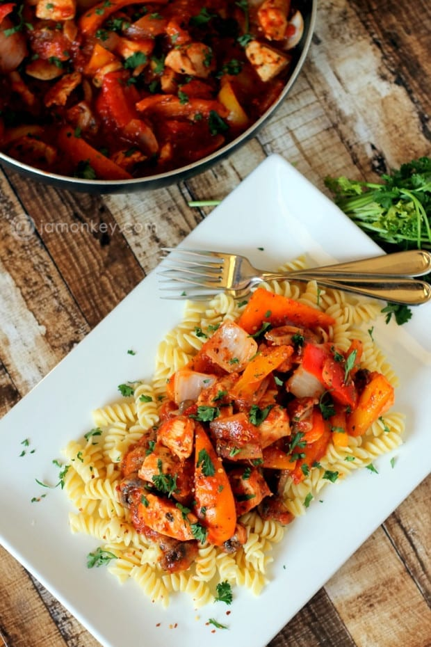 Spicy Italian Chicken Pasta