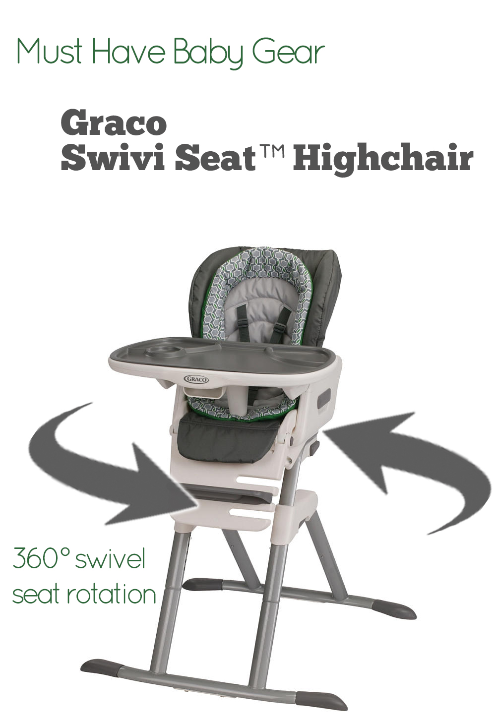 Graco® Swivi Seat™ Highchair