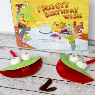 Fun Froggy Craft and Game