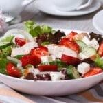 Chicken Strawberry and Feta Salad