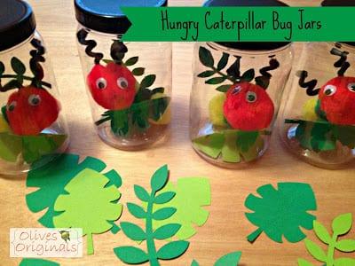 Hungry Caterpillar Bug Jars