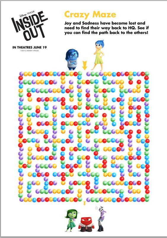 Inside-Out-Maze
