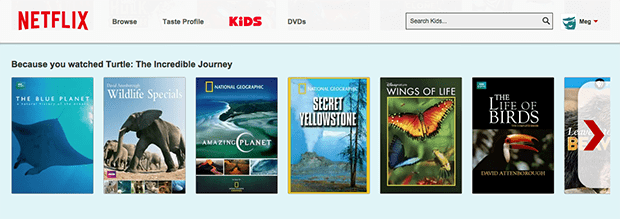 Netflix Kids Nature Shows