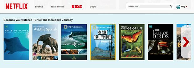 Netflix Kids Nature Shows