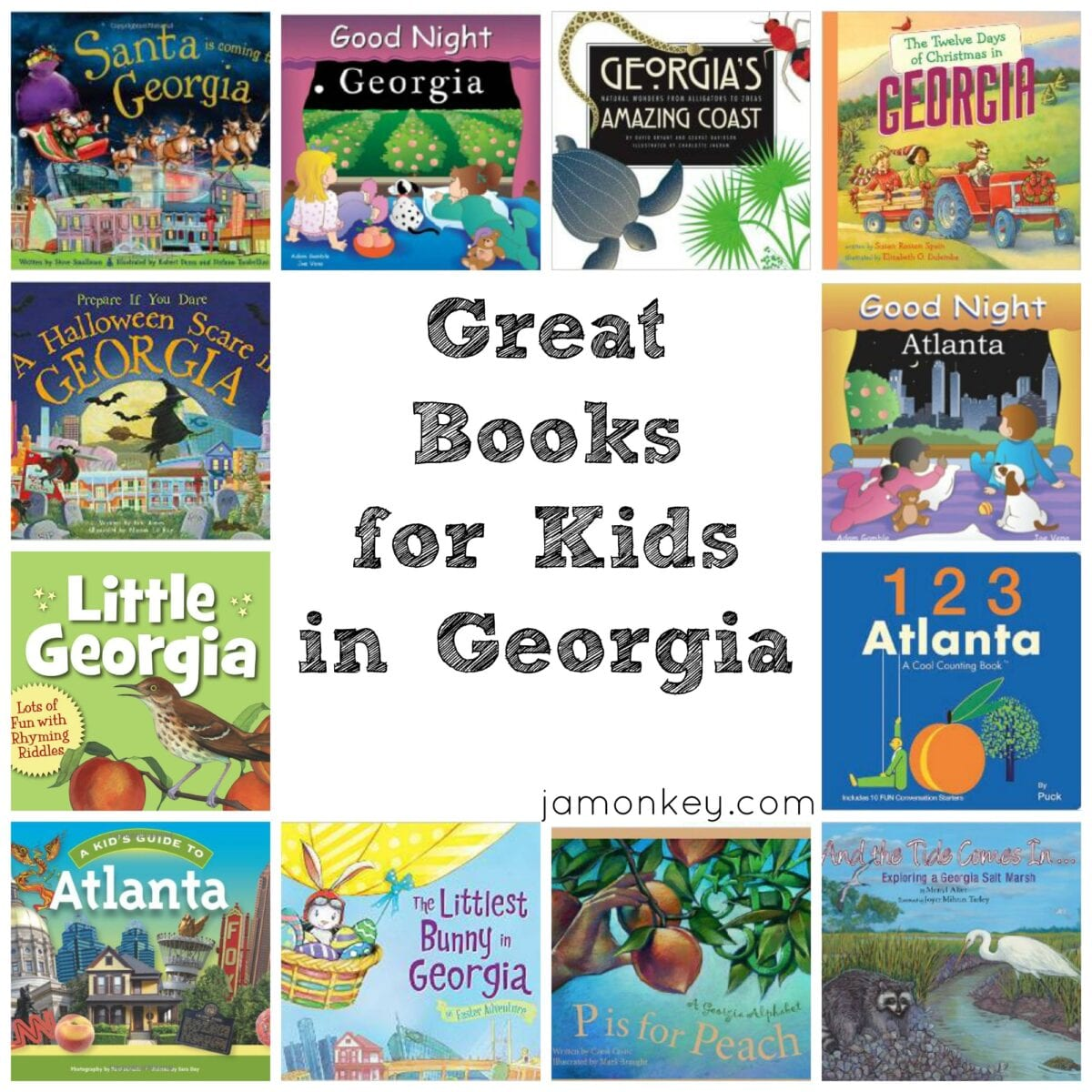Great Children's Books for Kids that live in Georgia