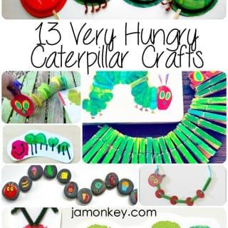13 Very Hungry Caterpillar Crafts