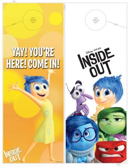 Disney Pixar Inside Out Activity Sheets