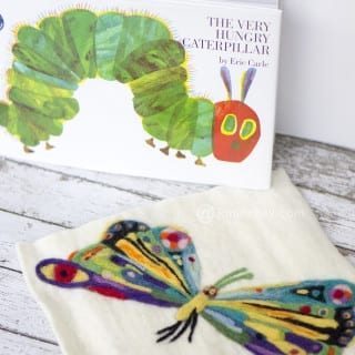 The Very Hungry Caterpillar – Needle Felting