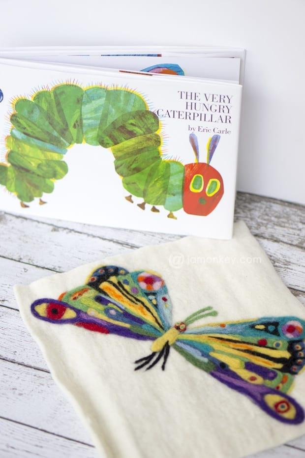 The Very Hungry Caterpillar - Needle Felting