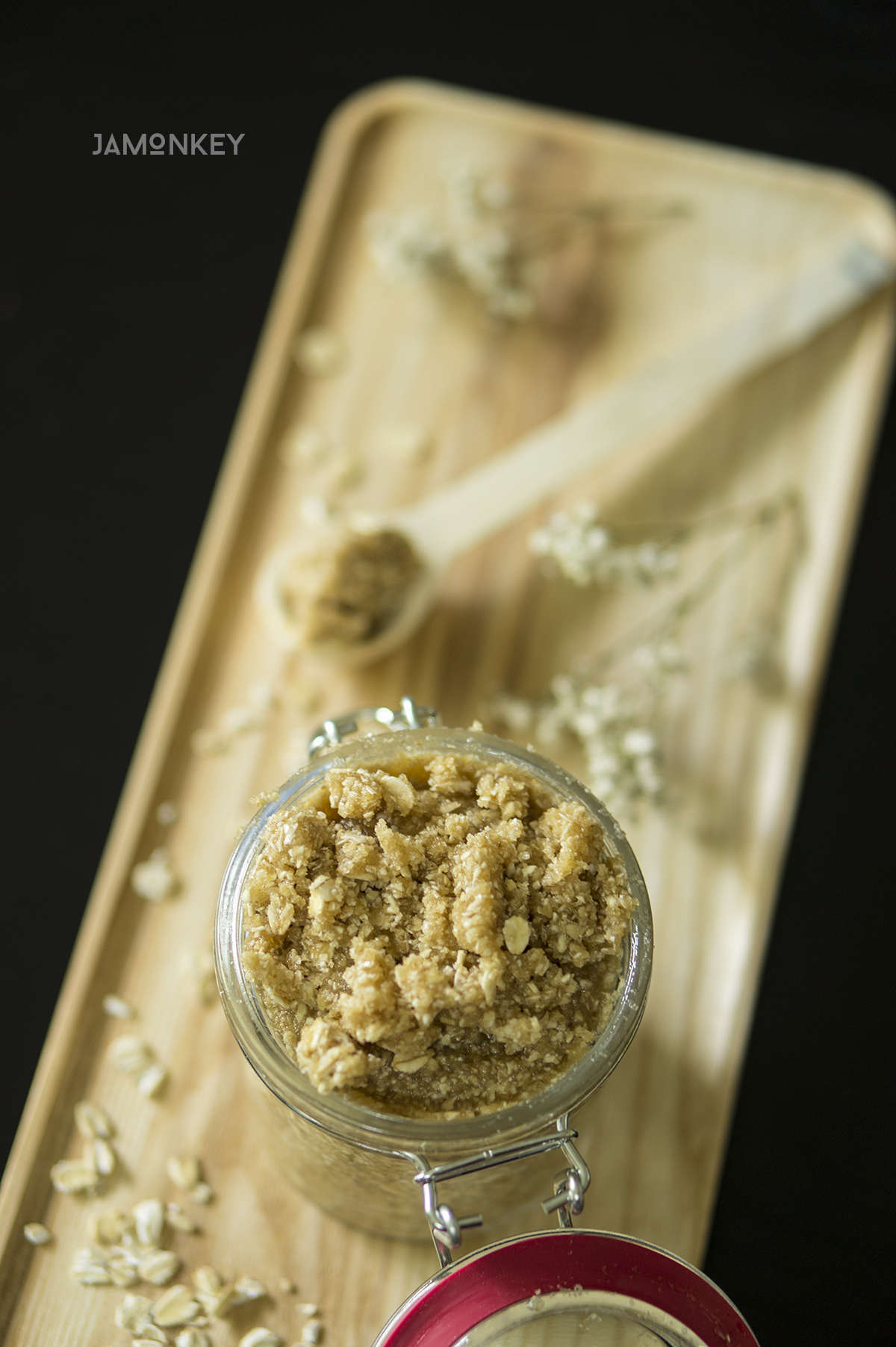 Oatmeal Cookie Sugar Scrub