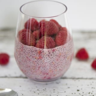 Raspberry Vanilla Chia Pudding