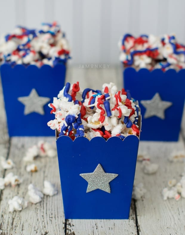 Patriotic Popcorn