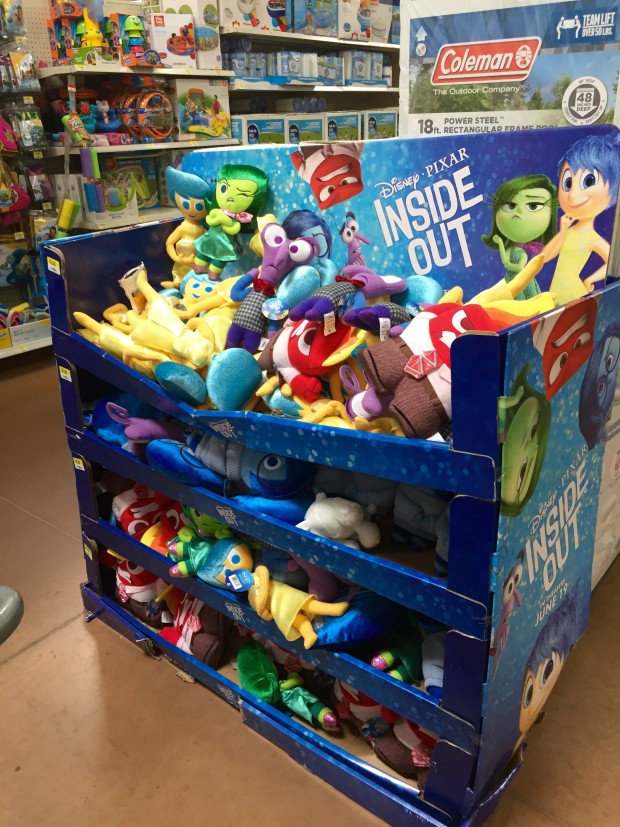 Inside Out Plush Toys at Walmart