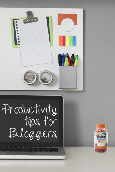 Productivity Tips for Bloggers