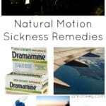 Natural Motion Sickness Remedies