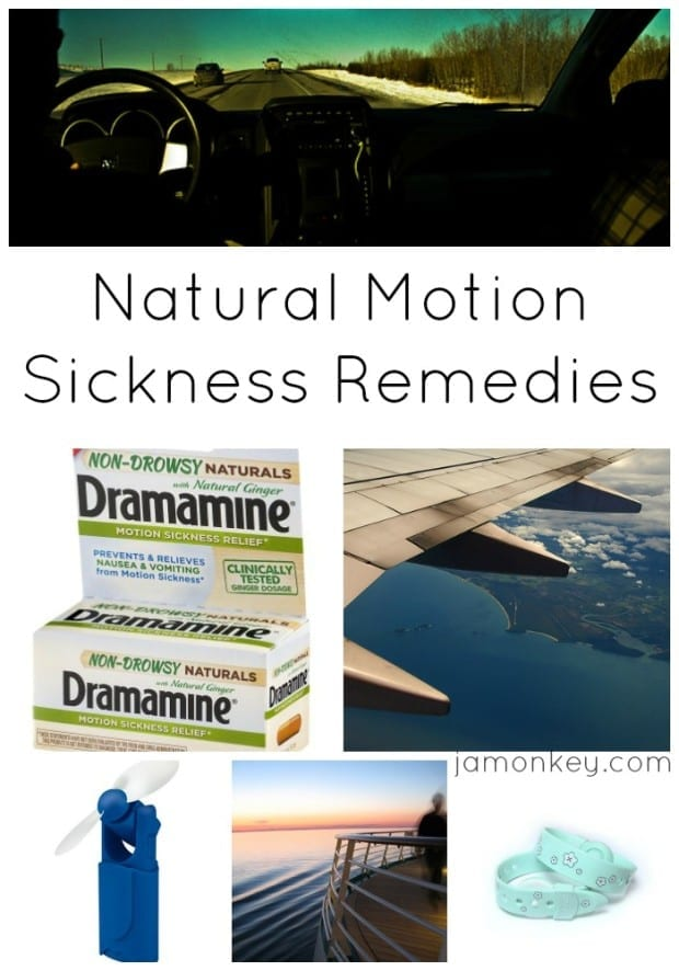 Natural Motion Sickness Remedies