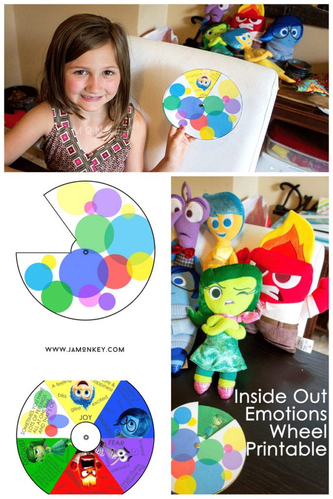 Inside Out Emotions Printable