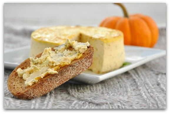Savory Pumpkin Basil Cheesecake Spread