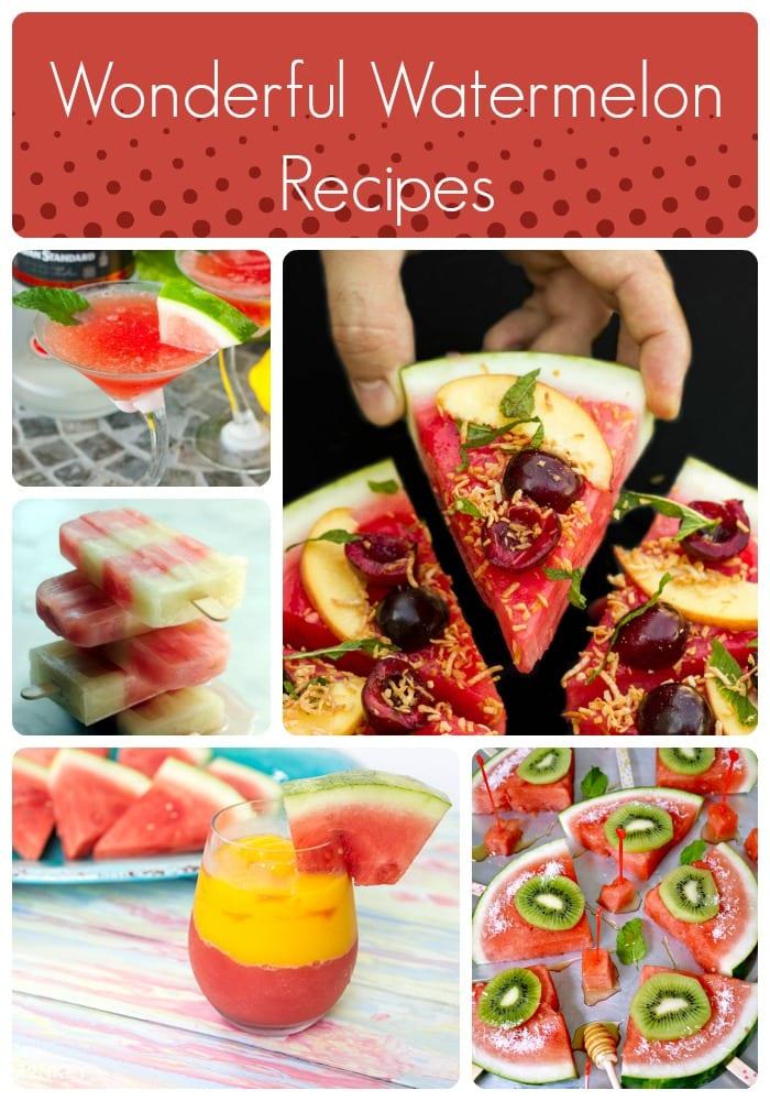 34 Wonderful Watermelon Recipes