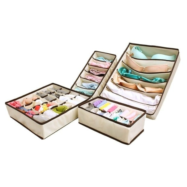 Bra Underwear Closet Organizer Drawer Dividers
