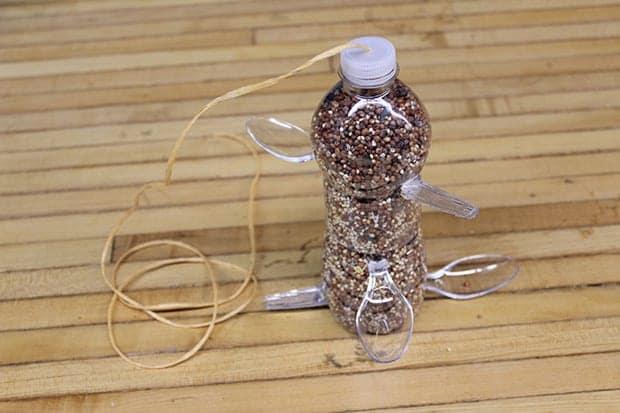 DIY Recycled Plastic Bottle Bird Feeder - Make Garbage ...