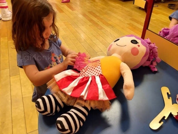 LaLaLoopsy Dolls at Build a Bear