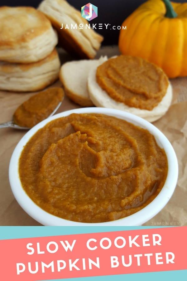 Homemade Slow Cooker Pumpkin Butter
