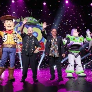 Big Pixar and Walt Disney Animation Studios Announcements at D23 Expo