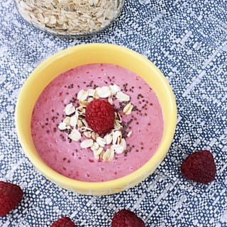 Vanilla Berry Protein Smoothie Bowl